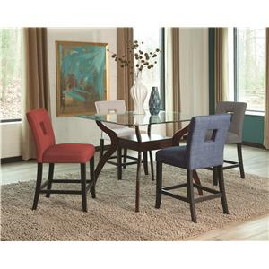 Coaster Andenne 5 Piece Counter Table Set