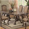 Coaster Andrea Traditional Double Pedestal Dining Table - 103111