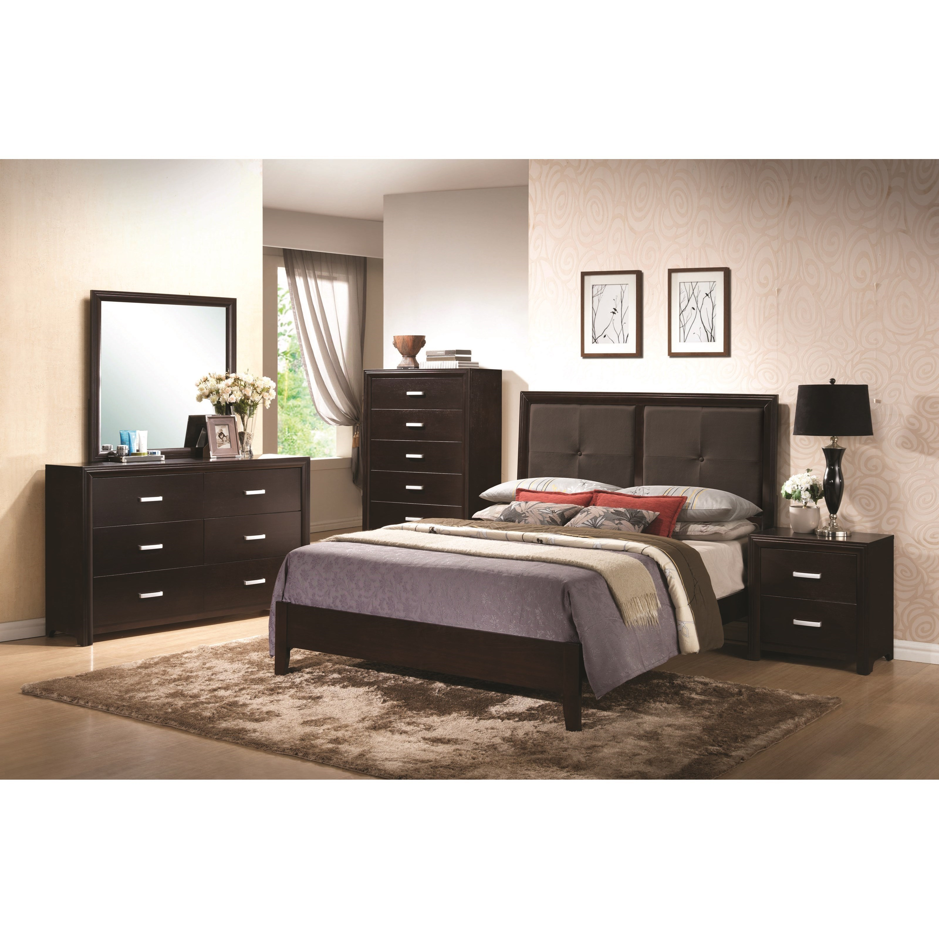 Coaster Andreas Queen Bedroom Group  - Item Number: 202470 Q Bedroom Group 1