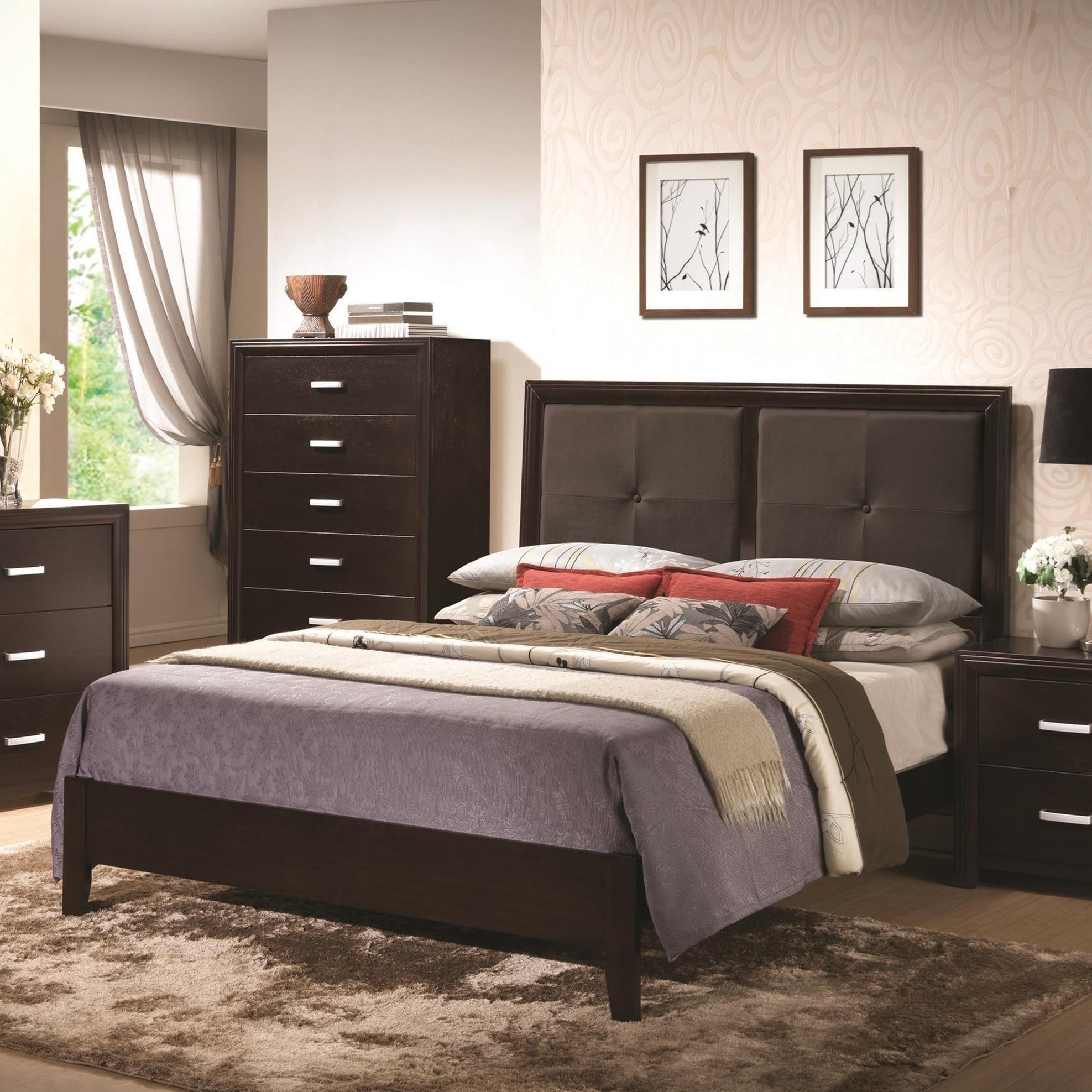 Coaster Andreas Queen Bed - Item Number: 202471QN