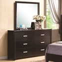 Coaster Andreas Dresser and Mirror Combo - Item Number: 202473N+4N