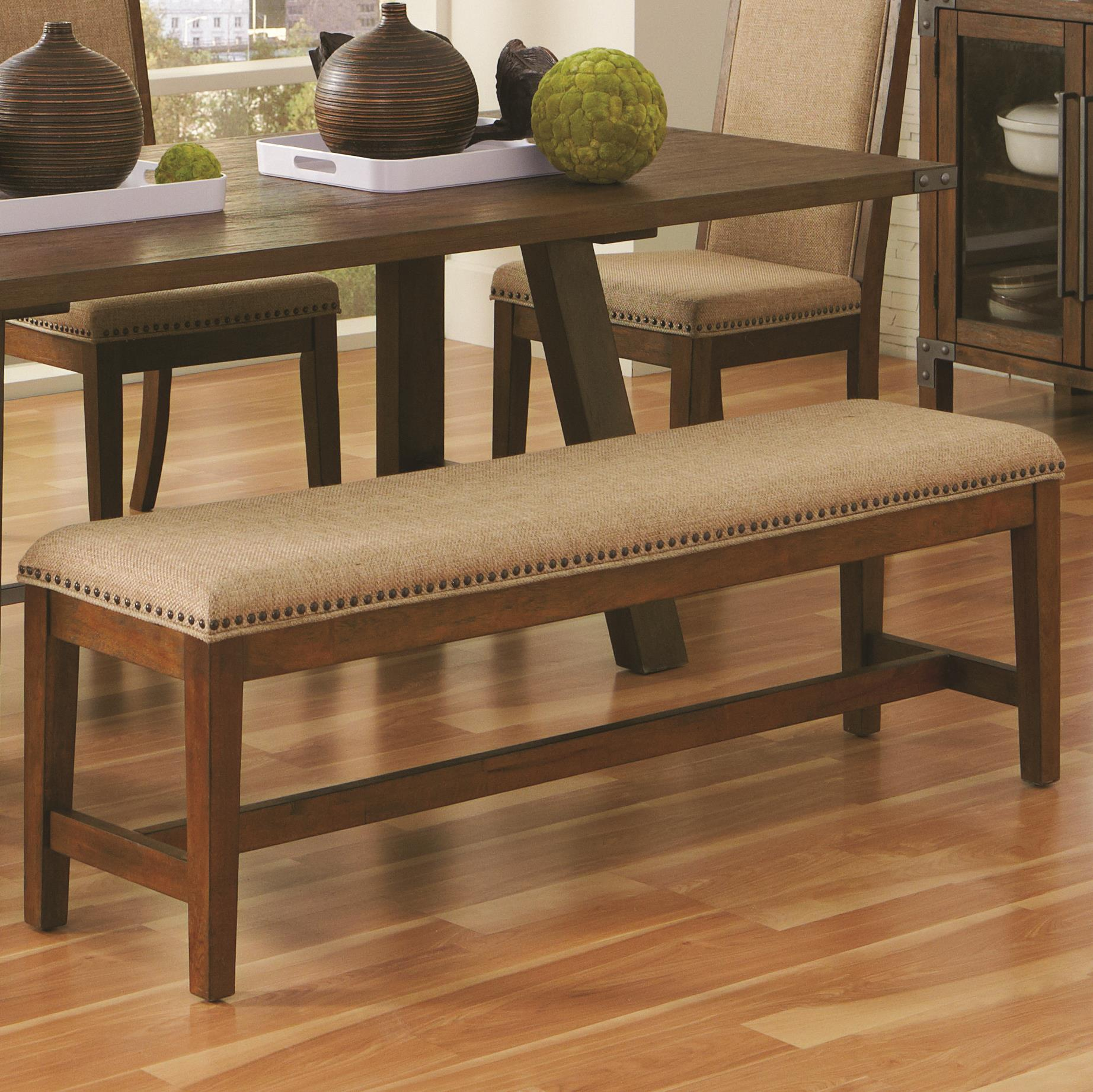 Coaster Arcadia Upholstered Dining Bench - Item Number: 105683