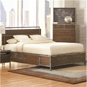 Coaster Arcadia 20380 Queen Platform Bed