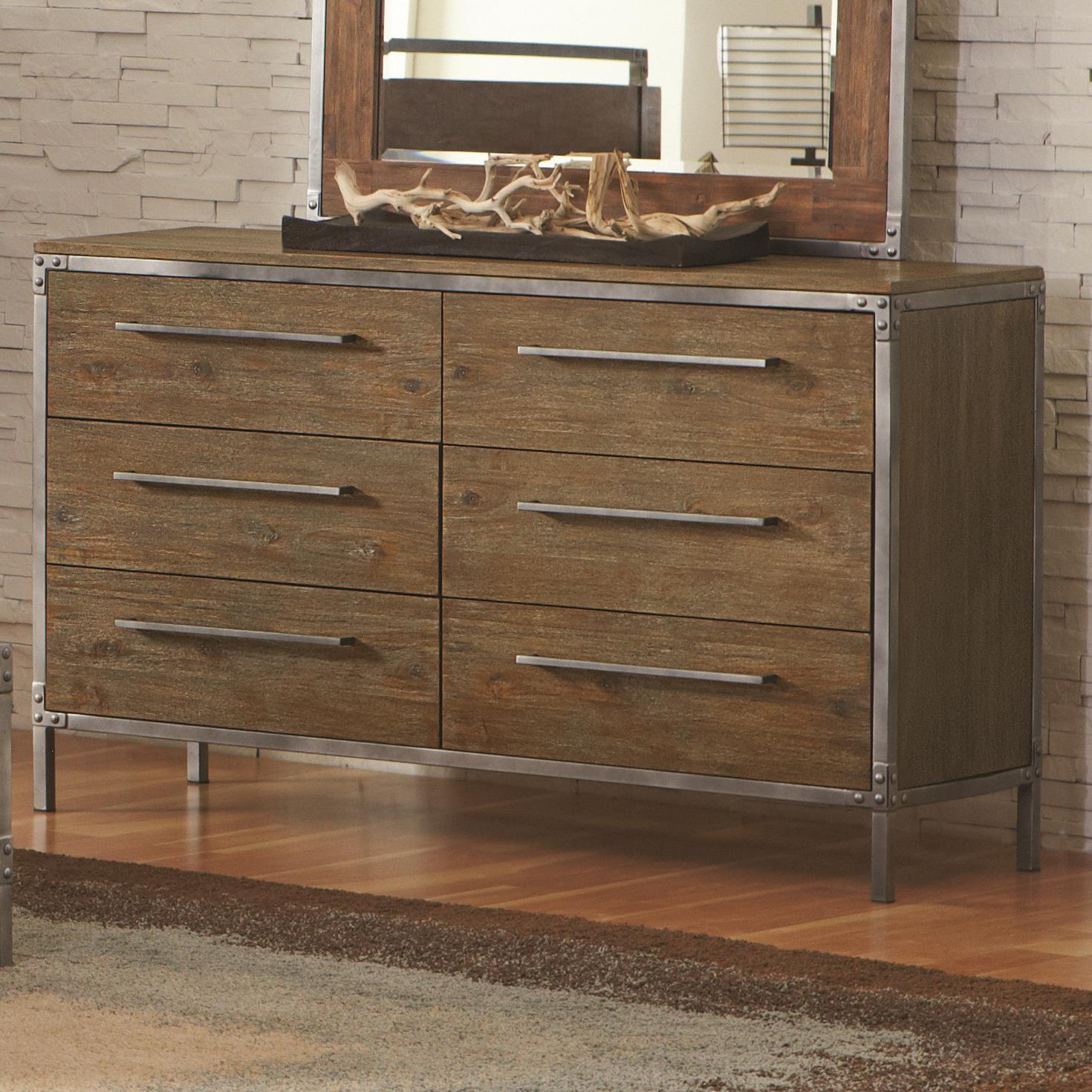 Coaster Arcadia 20380 6 Drawer Dresser - Item Number: 203803