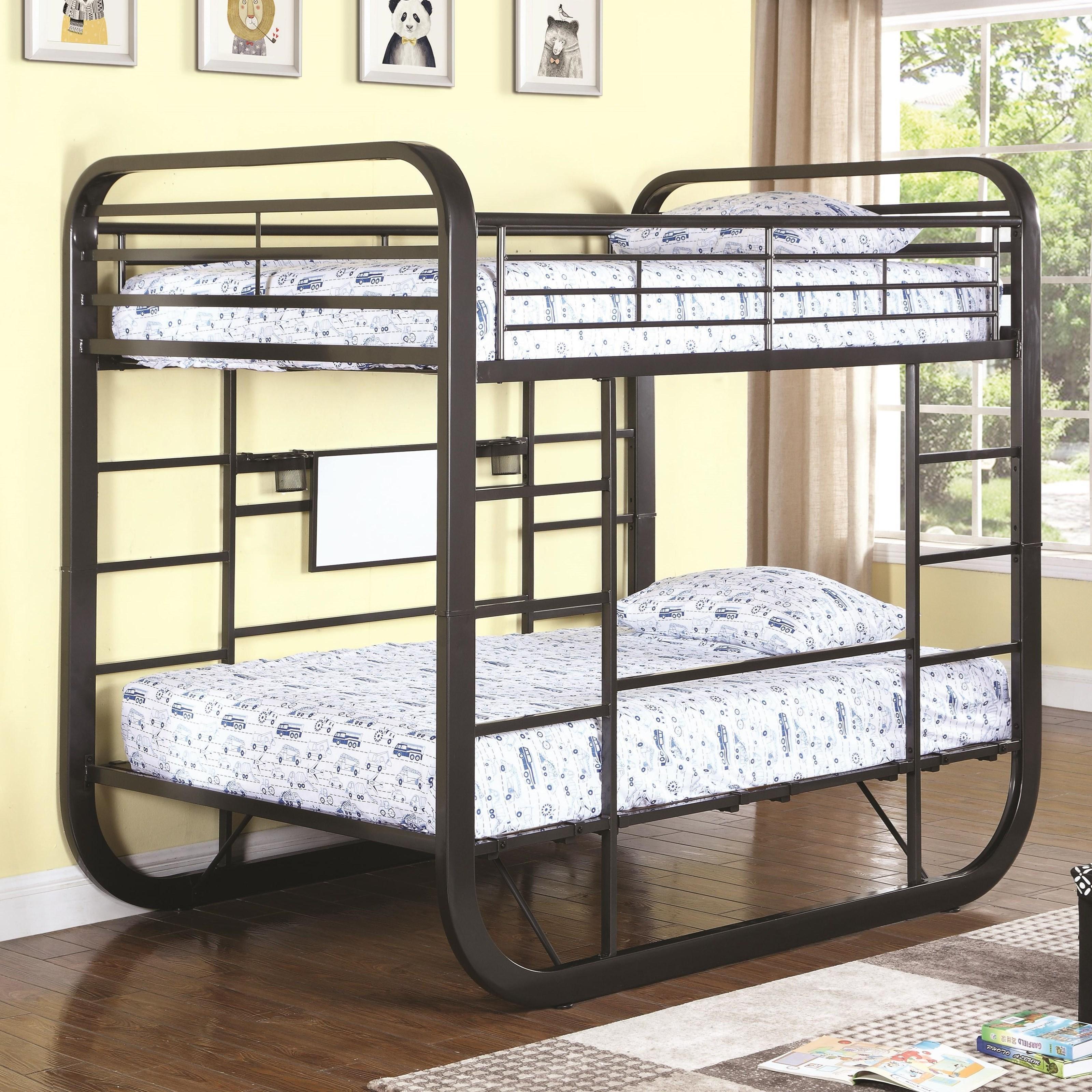 Full Workstation Bunk Bed