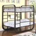 Coaster Archer Full Workstation Bunk Bed - Item Number: 400020F