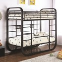 Coaster Archer Twin Workstation Bunk Bed - Item Number: 400020T