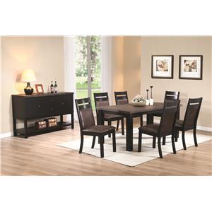 Coaster Arlington Casual Dining Room Group