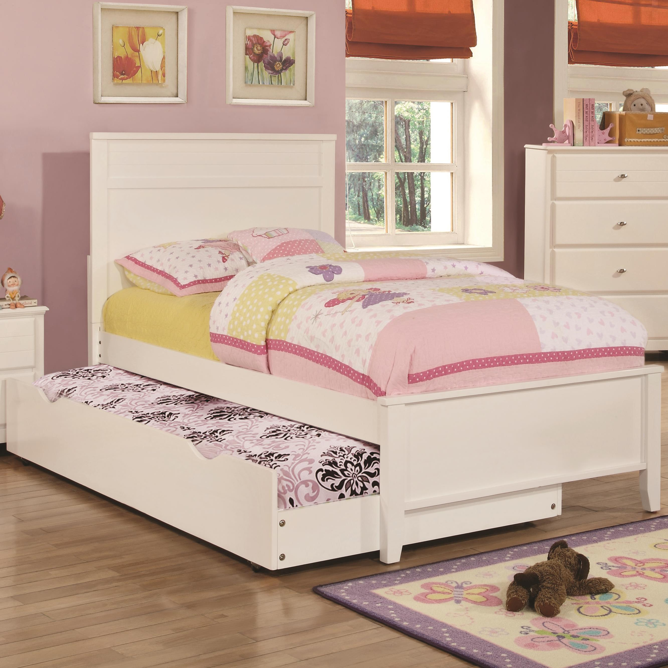 Coaster Ashton Collection Twin Bed with Trundle - Item Number: 400761T+400766