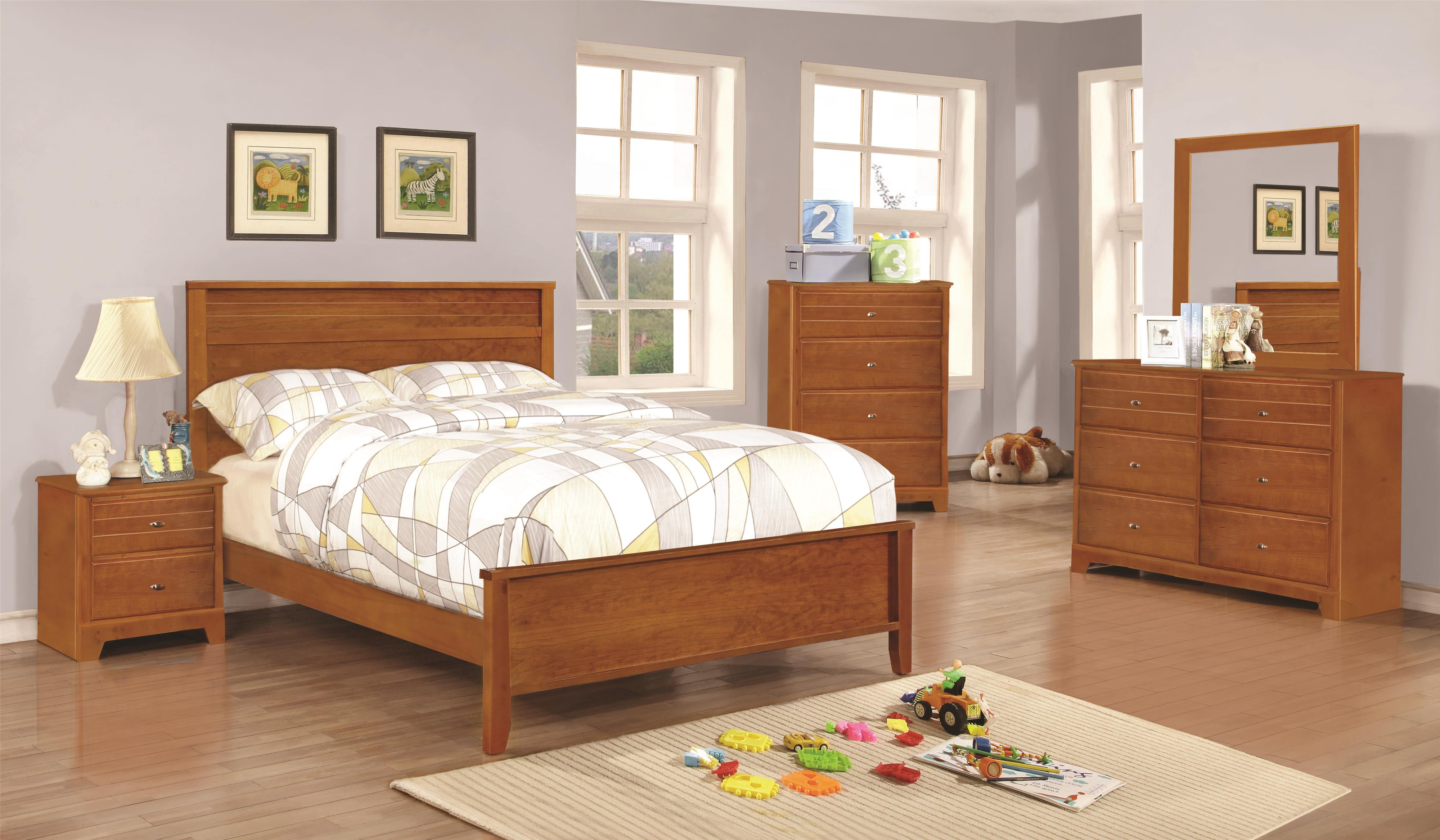 Coaster Ashton Collection Twin Bedroom Group - Item Number: 40081 T Bedroom Group 1