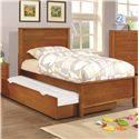 Coaster Ashton Collection Full Bed with Trundle - Item Number: 400811F+400816