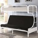 Coaster Atticus Twin Bunk Bed - Item Number: 460102W