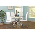 Coaster Augustin Table and Chair Set - Item Number: 106441+4x104815