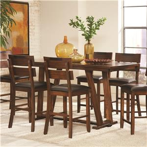 Coaster Avalon Counter Height Table