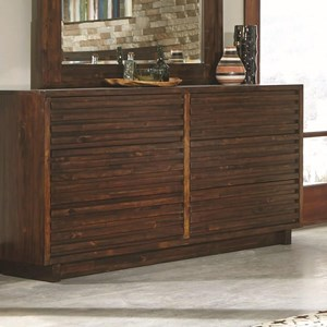 Coaster Avery 6 Drawer Dresser