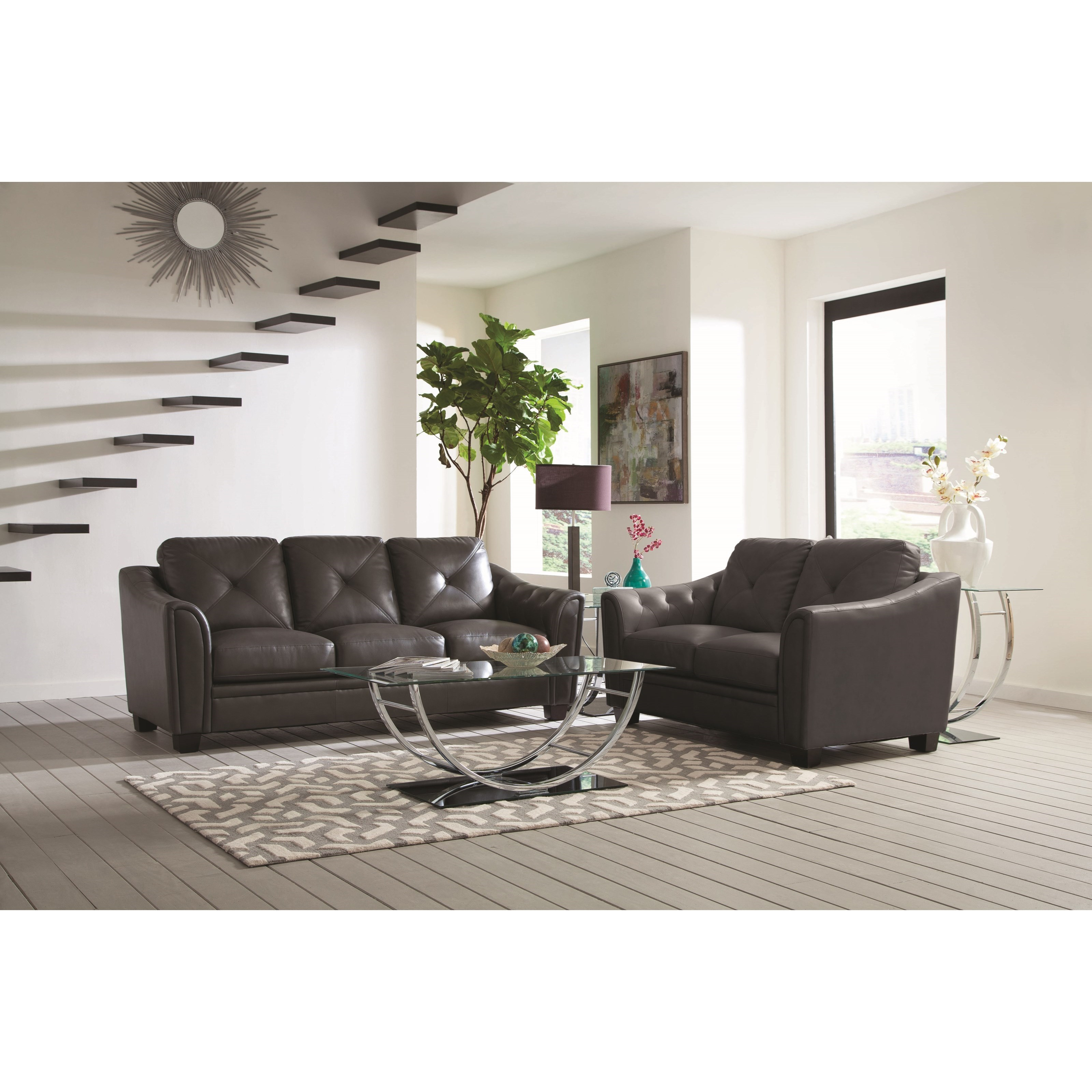 Coaster Avison Living Room Group - Item Number: 505290 Living Room Group 1