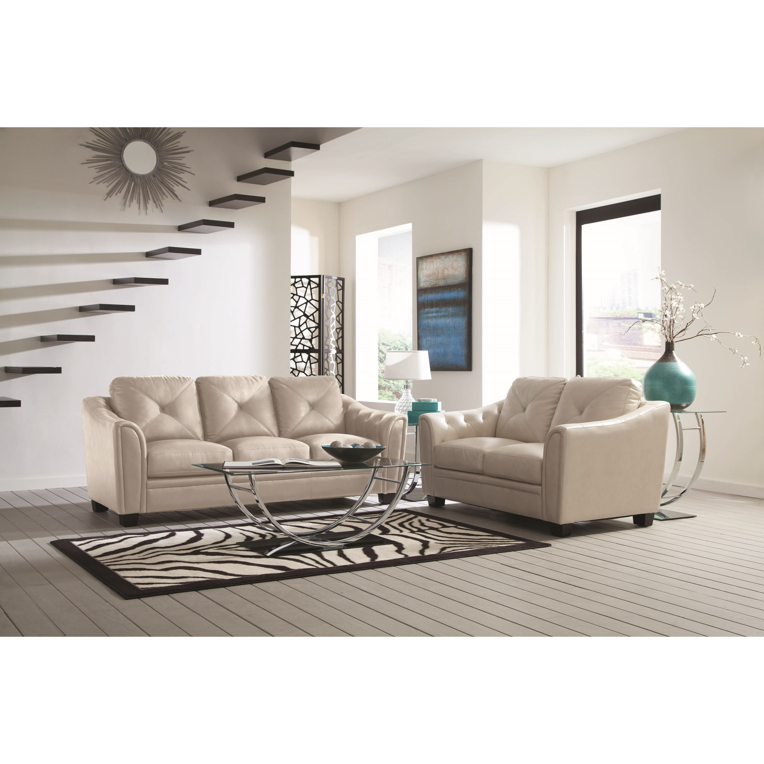 Coaster Avison Living Room Group - Item Number: 505300 Living Room Group 1