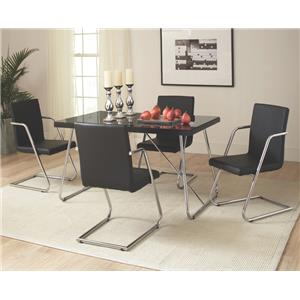 Coaster Avram Table and Chairs Set