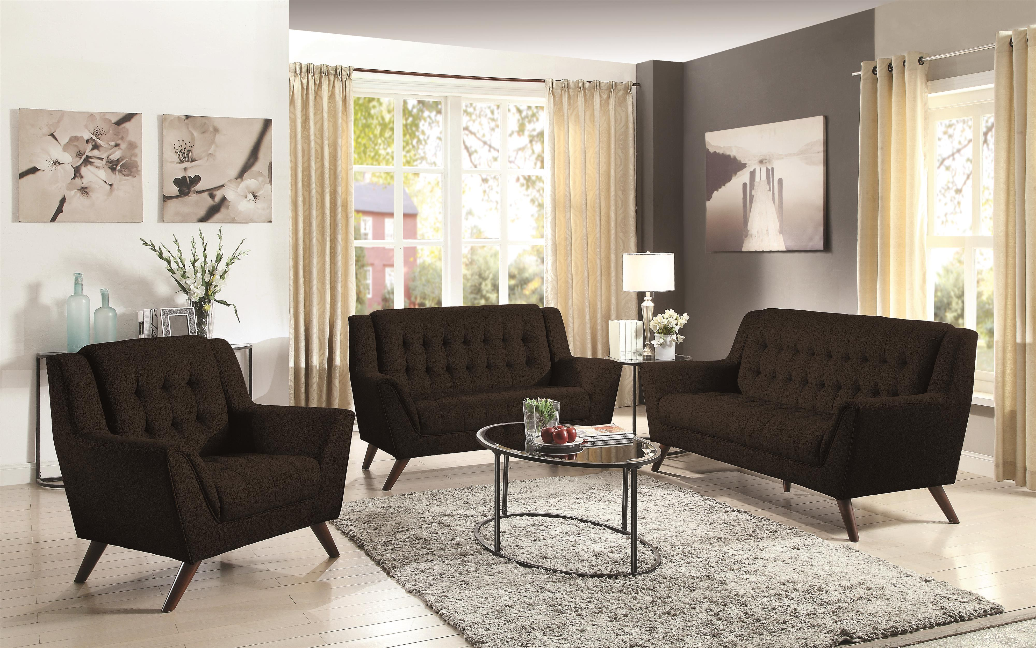 Coaster Baby Natalia Living Room Group - Item Number: 5110 Living Room Group 2