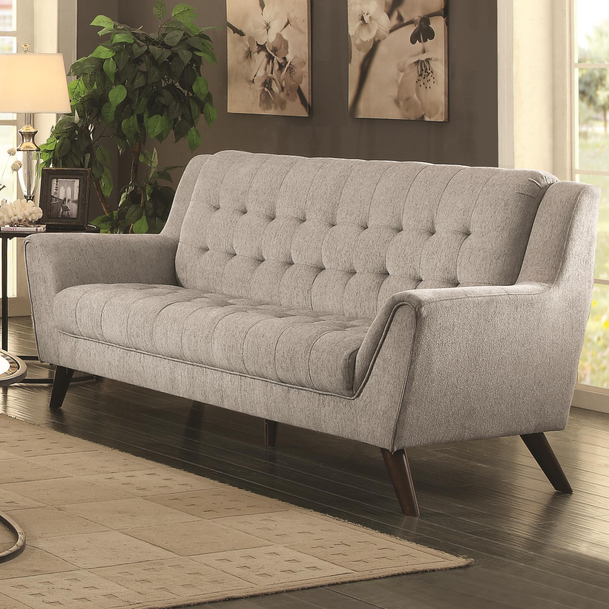 Baby Natalia Mid-Century Modern Sofa by Coaster at Value City Furniture
