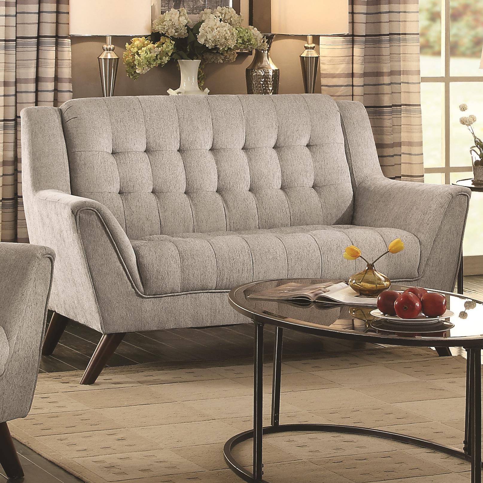 Baby Natalia Loveseat by Coaster at Carolina Direct