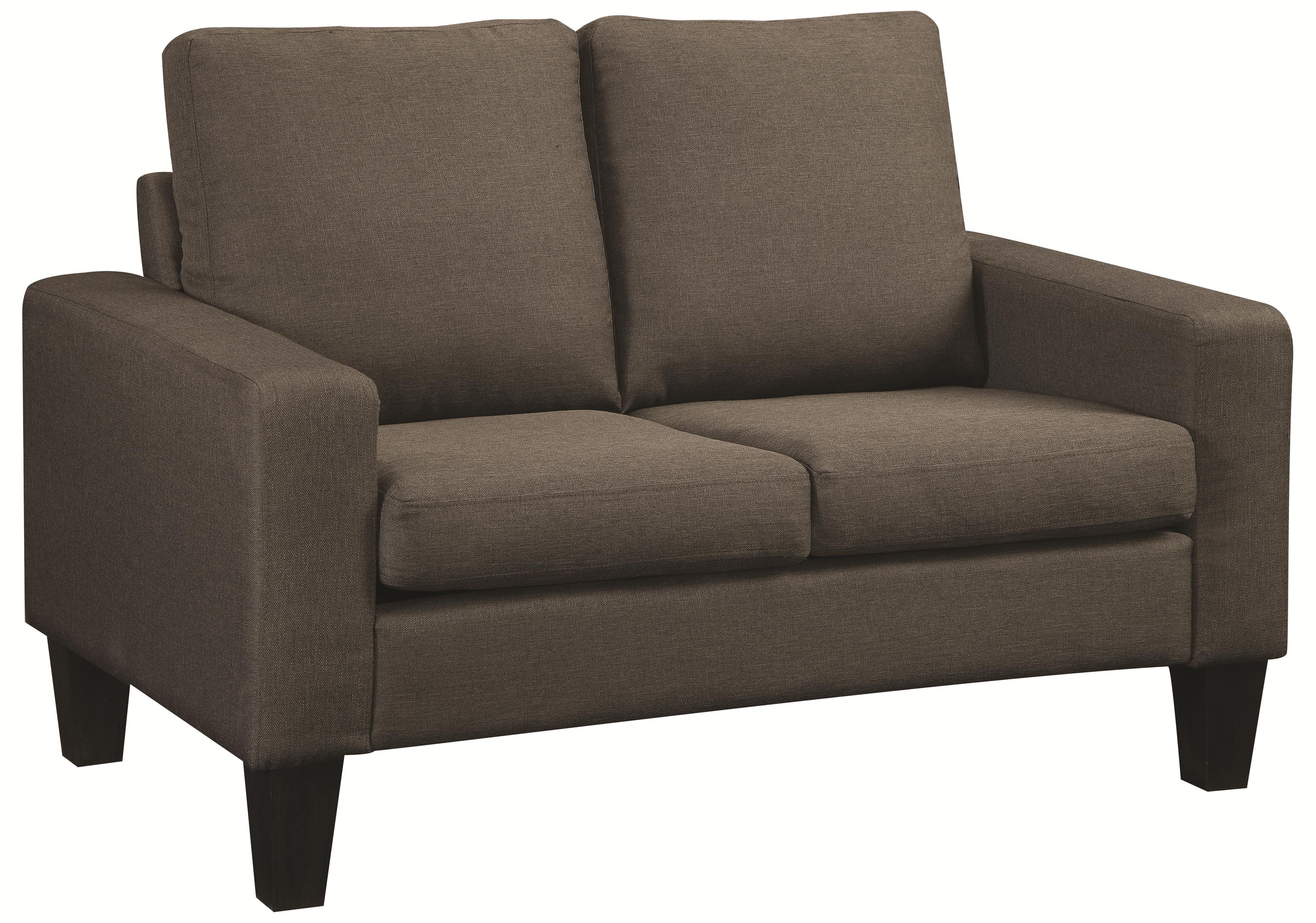 Coaster Bachman Love Seat - Item Number: 504765-Grey Linen