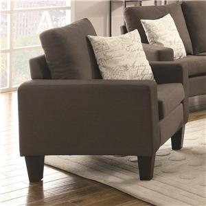 Coaster Bachman Upholstered Chair
