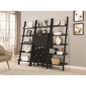 Coaster Bar Units and Bar Tables Bar Cabinet with Wine and Stemware Rack