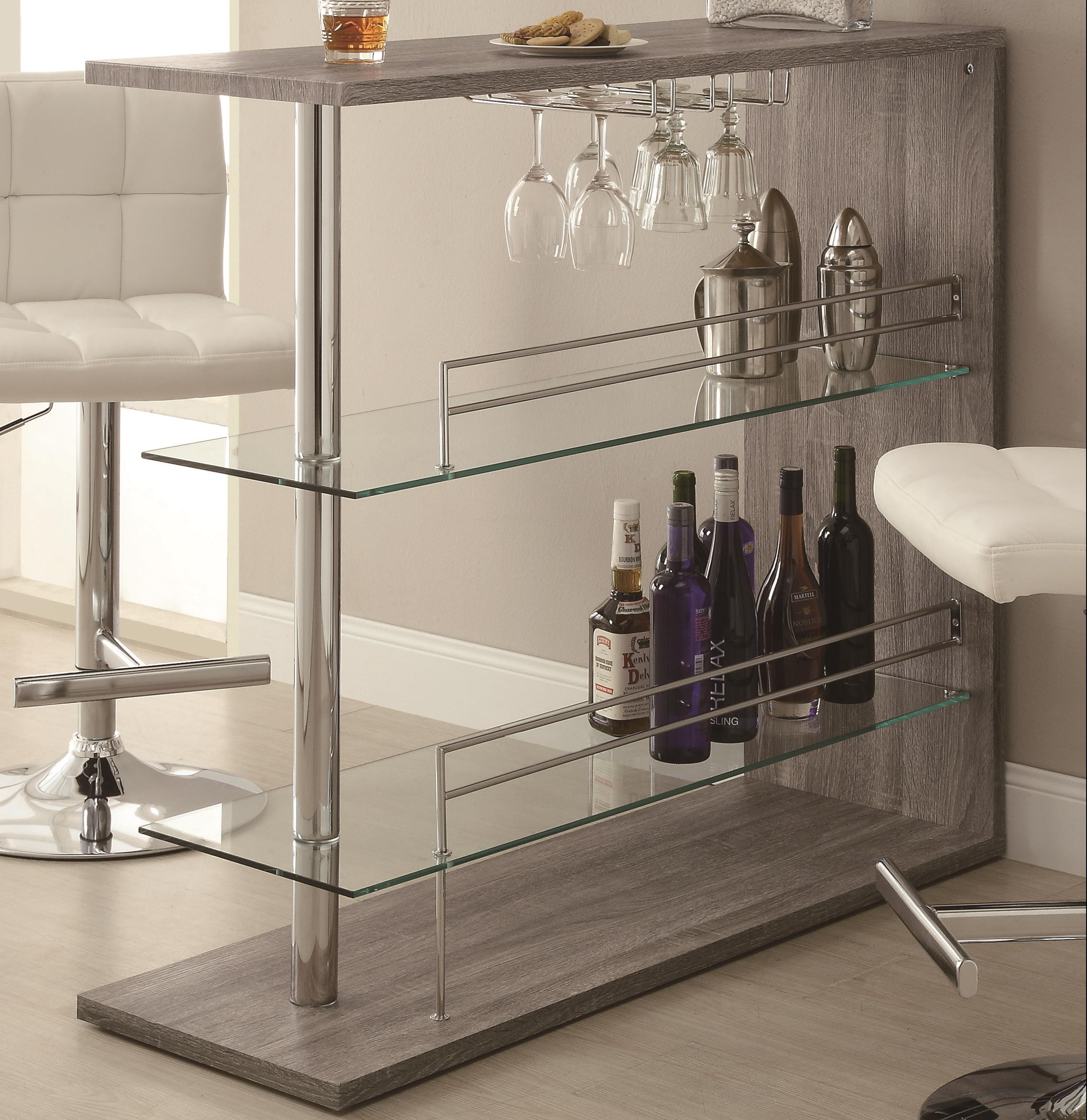 Coaster Bar Units and Bar Tables Bar Unit - Item Number: 100156