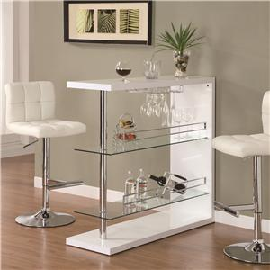 Coaster Bar Units and Bar Tables Bar Unit