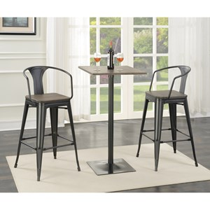 Coaster Bar Units and Bar Tables Bar Table and Stool Set