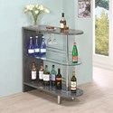Coaster Bar Units and Bar Tables Grey Bar Table - Item Number: 101073