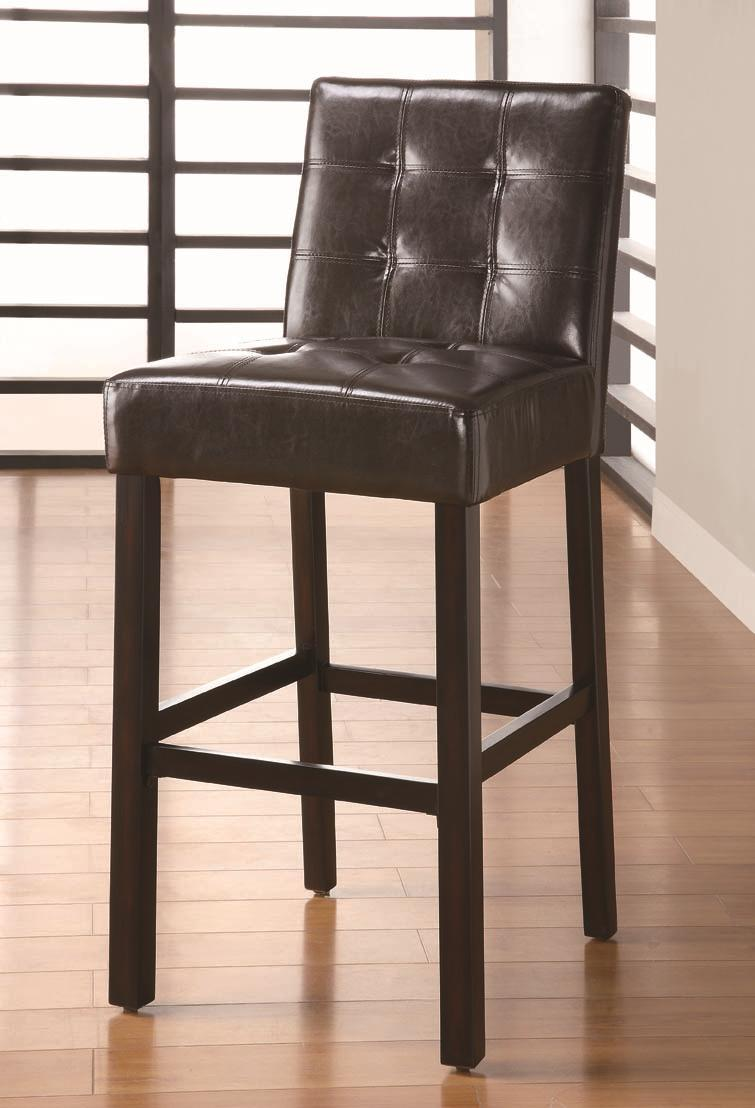 "Coaster Bar Units and Bar Tables 29"" Upholstered Bar Stool - Item Number: 102576"