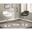 Coaster Bar Units and Bar Tables Bar Table and Stool Set - Item Number: 102951+100828+100829