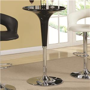 Coaster Bar Units and Bar Tables Adjustable Bar Table
