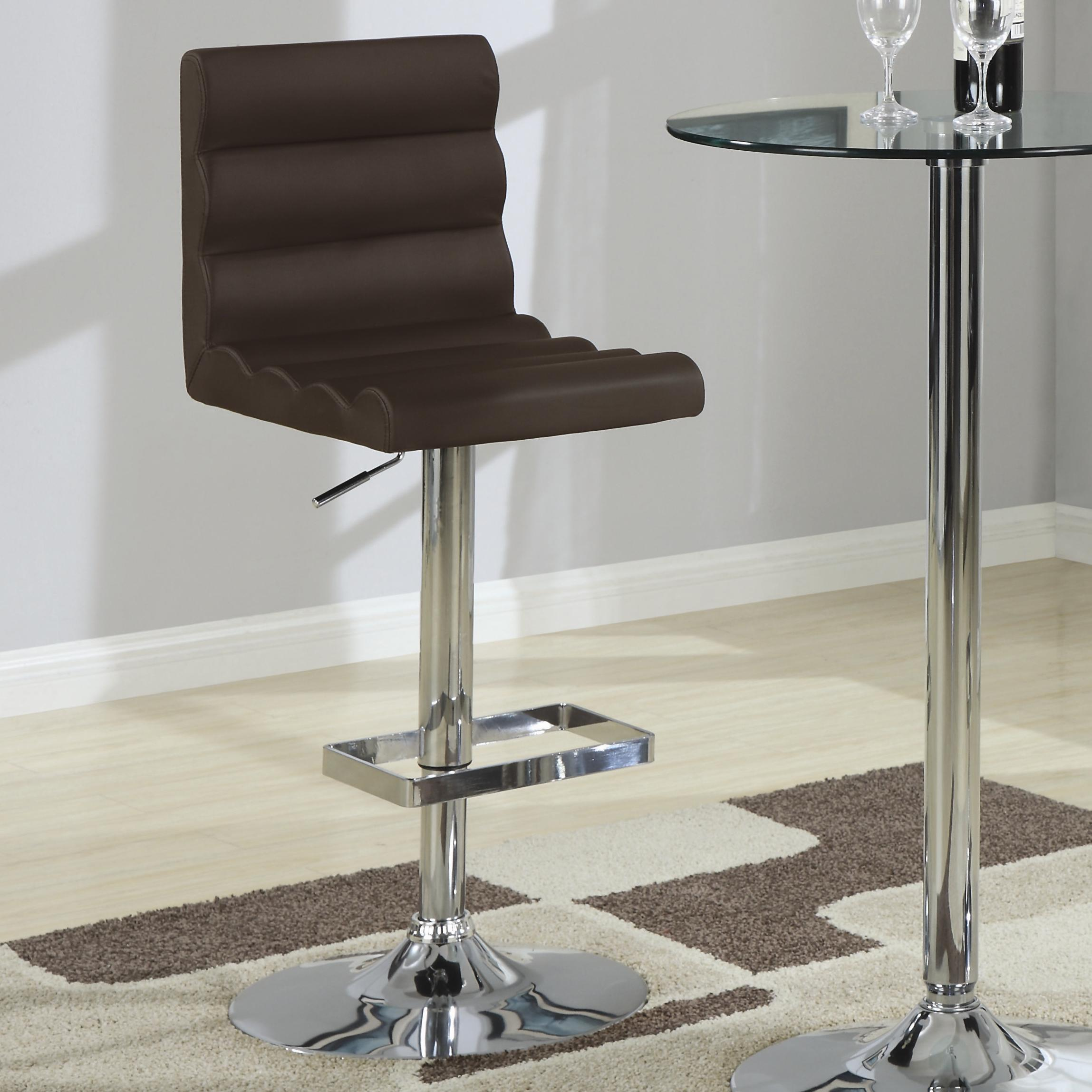 Coaster Bar Units and Bar Tables Stool (Brown) - Item Number: 120355