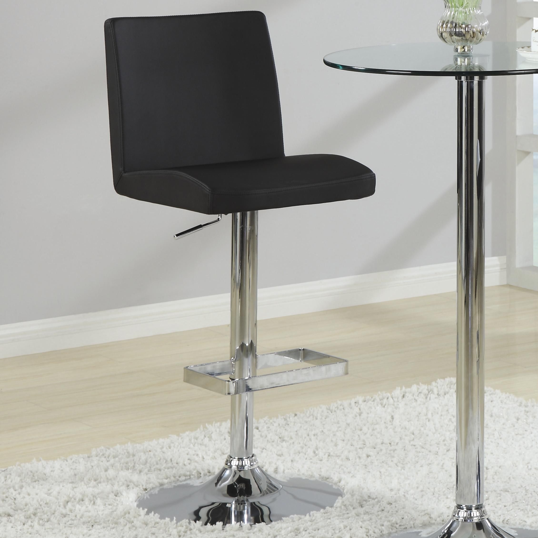 Coaster Bar Units and Bar Tables Stool (Black) - Item Number: 120357