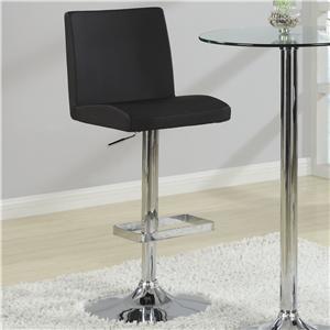 Coaster Bar Units and Bar Tables Stool (Black)