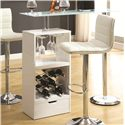 Coaster Bar Units and Bar Tables White Bar Table - Item Number: 120452