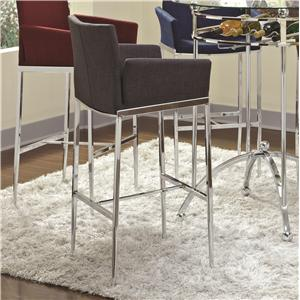 Coaster Bar Units and Bar Tables Bar Stool (Charcoal)