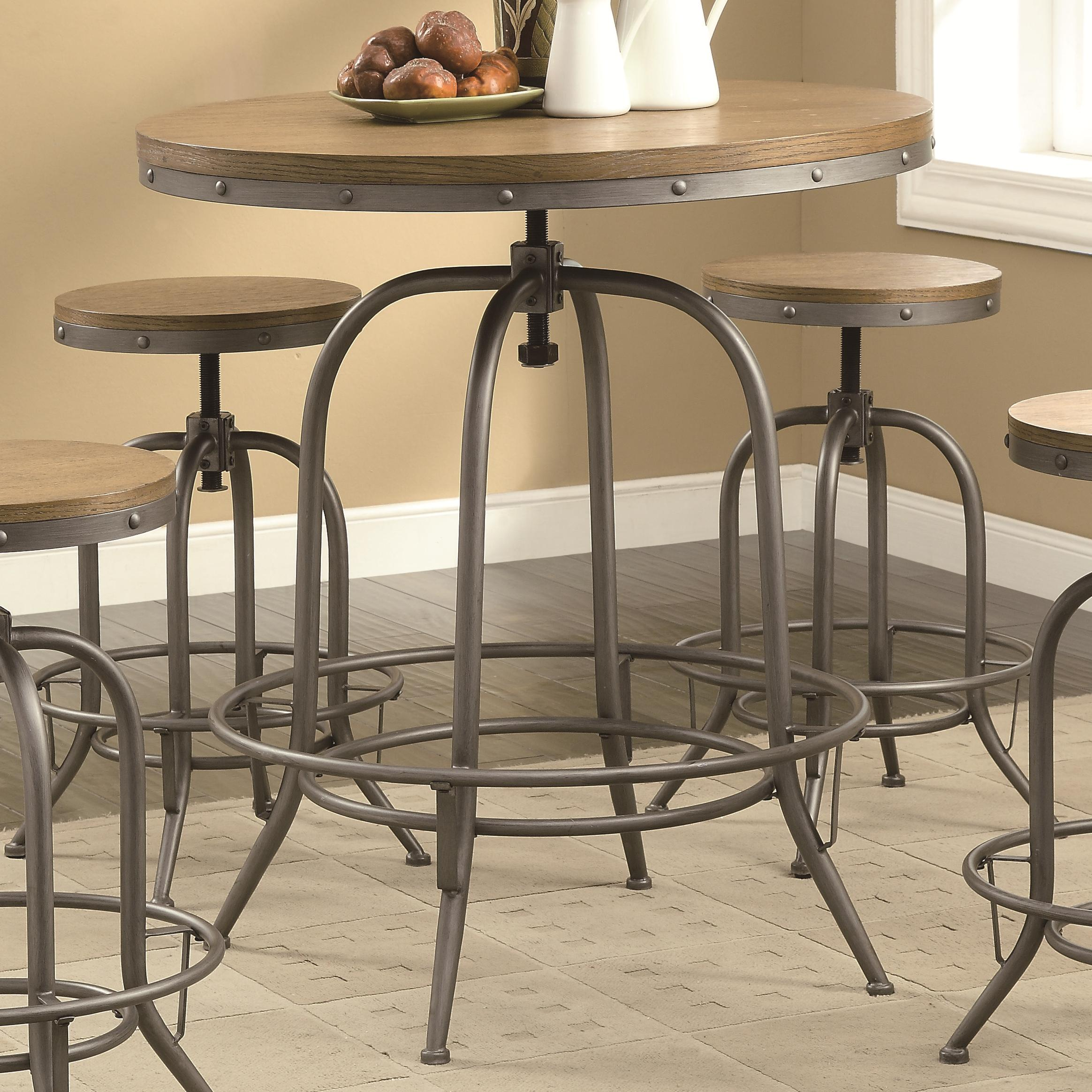 Coaster Bar Units and Bar Tables Adjustable Bar Table - Item Number: 122097