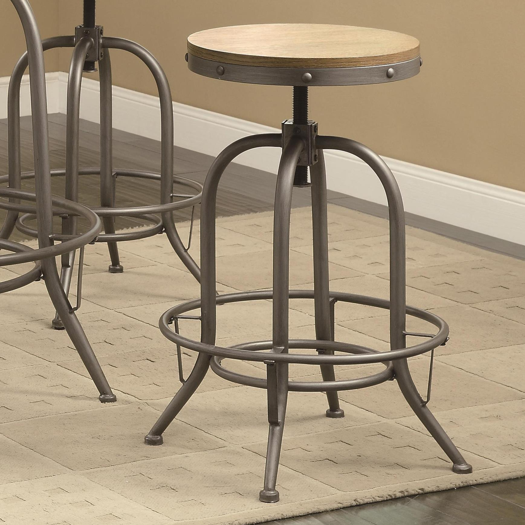 Coaster Bar Units and Bar Tables Adjustable Bar Stool - Item Number: 122098