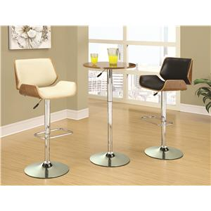 Coaster Bar Units and Bar Tables Adjustable Bar Table Set