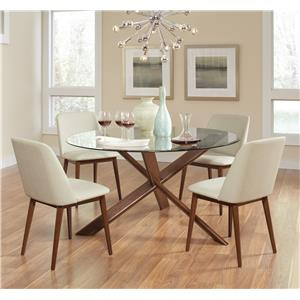 Coaster Barett Table and Chair Set