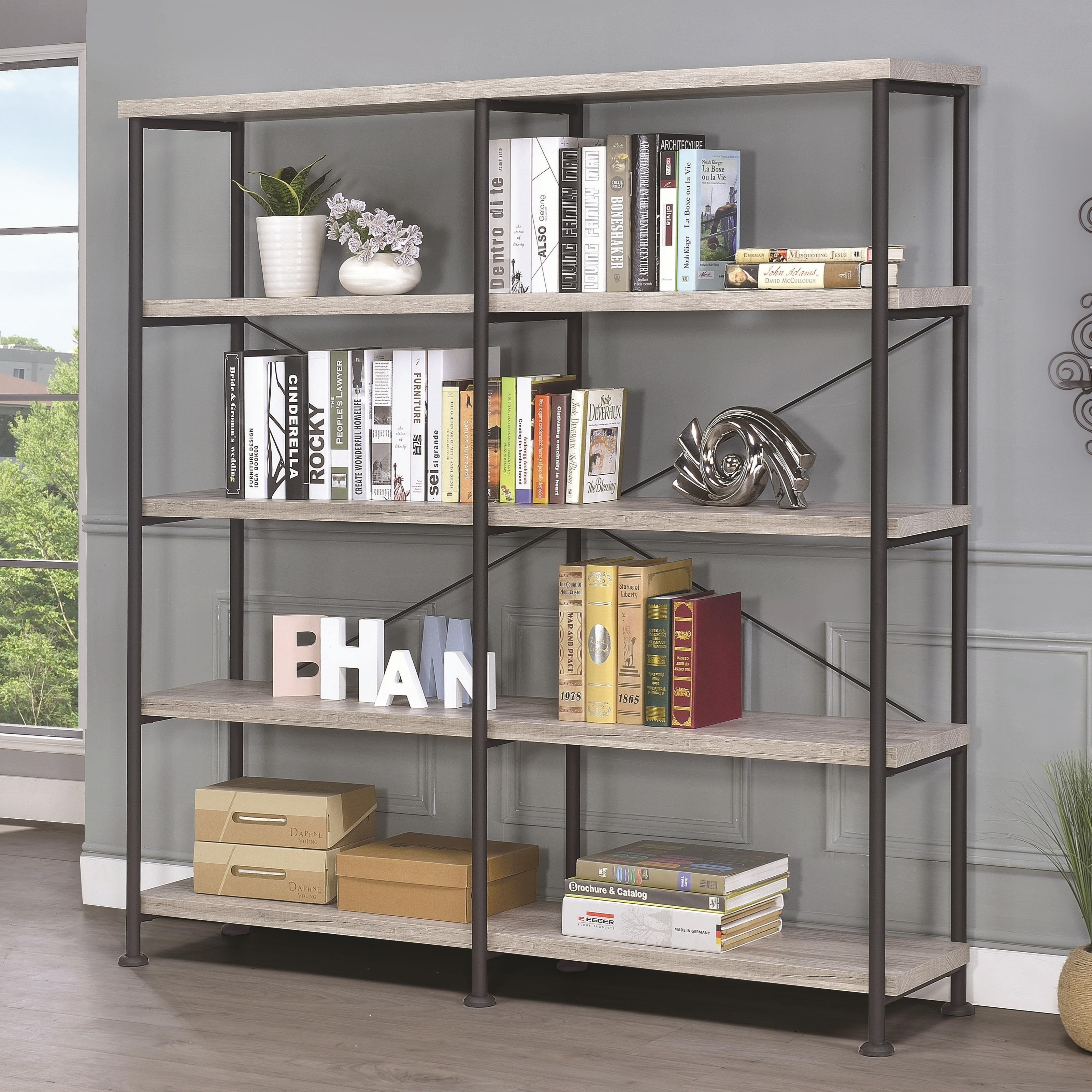 Guthrie Bookcase by Coaster at Value City Furniture