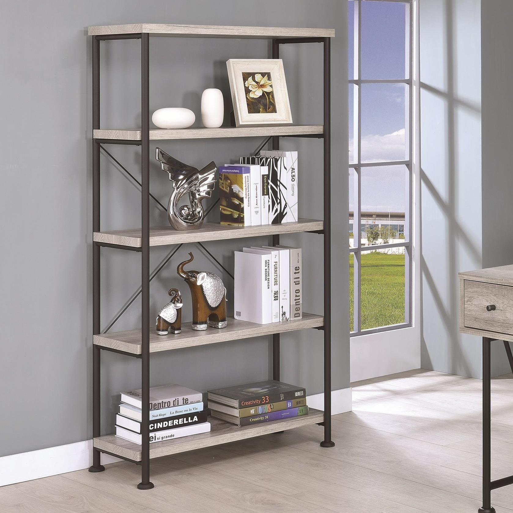 Guthrie Bookcase by Coaster at Northeast Factory Direct