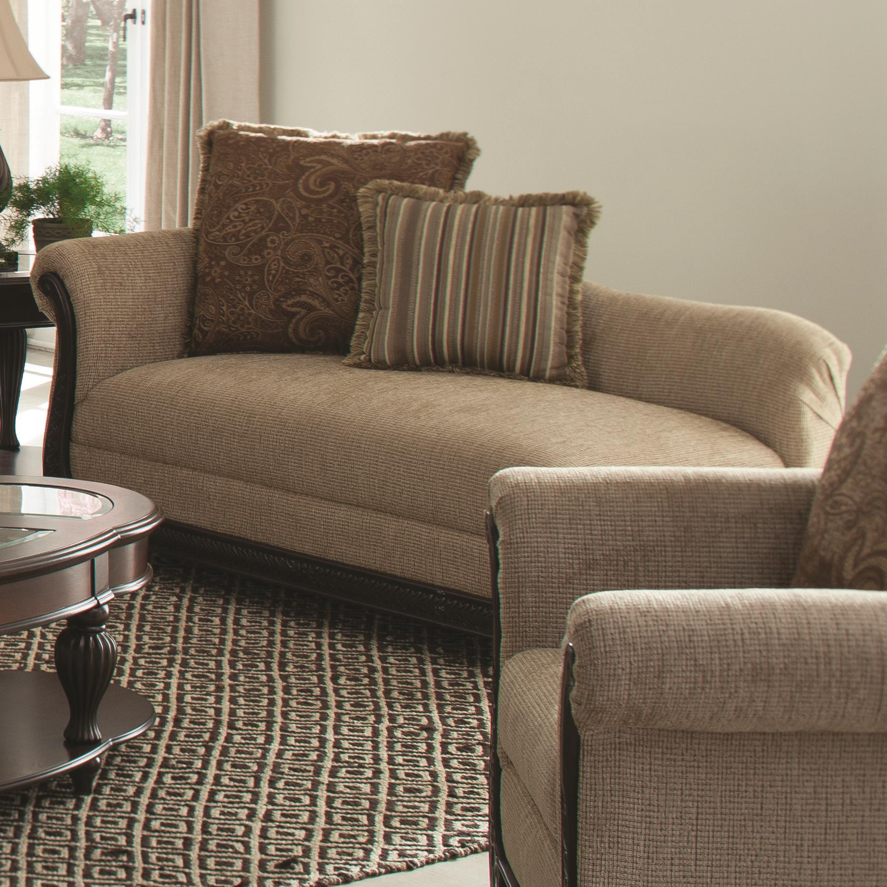 Coaster Beasley Chaise - Item Number: 550037