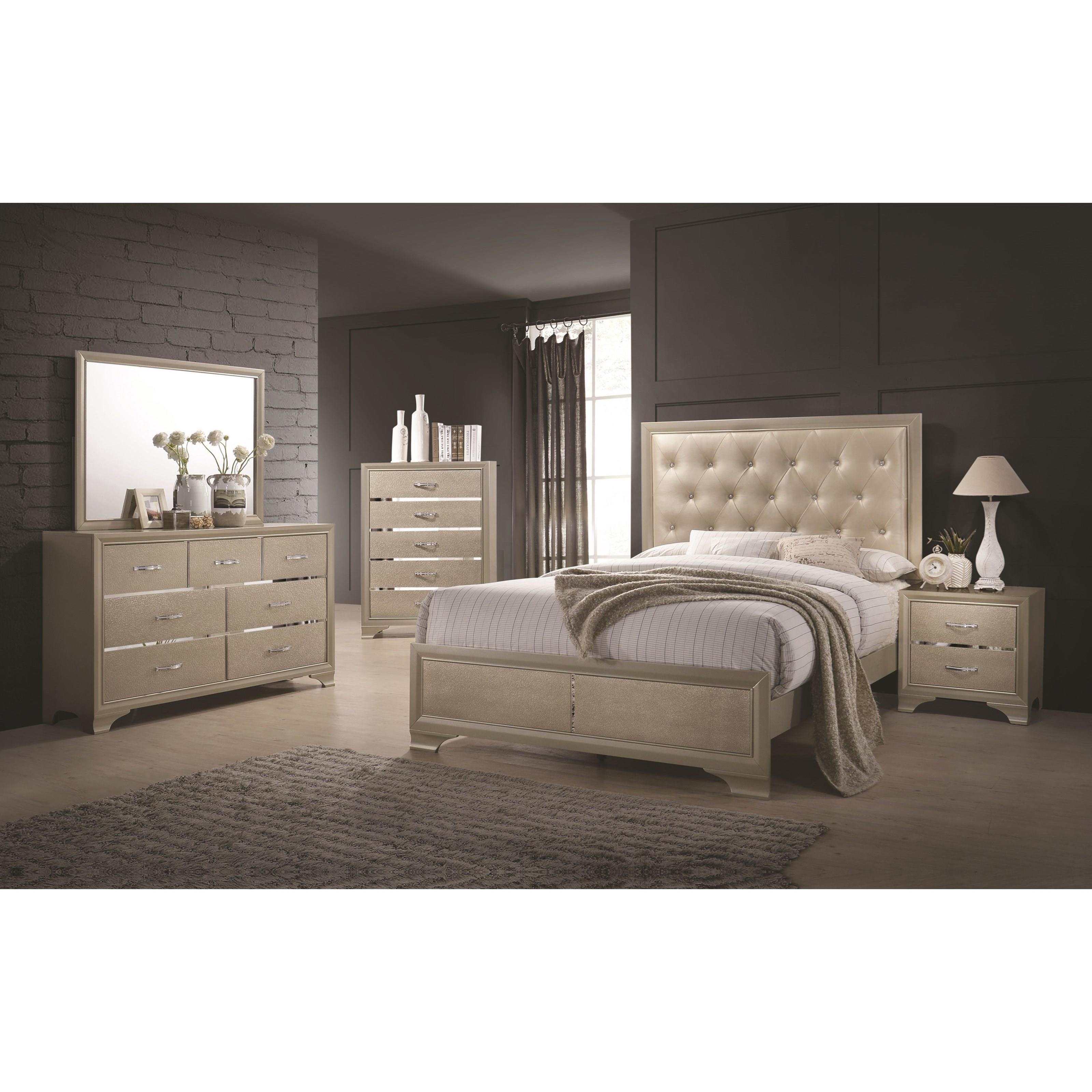 Fine Furniture Beaumont 205291KE Upholstered King Bed With