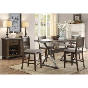 Coaster Beckett Counter Height Dining Room Group