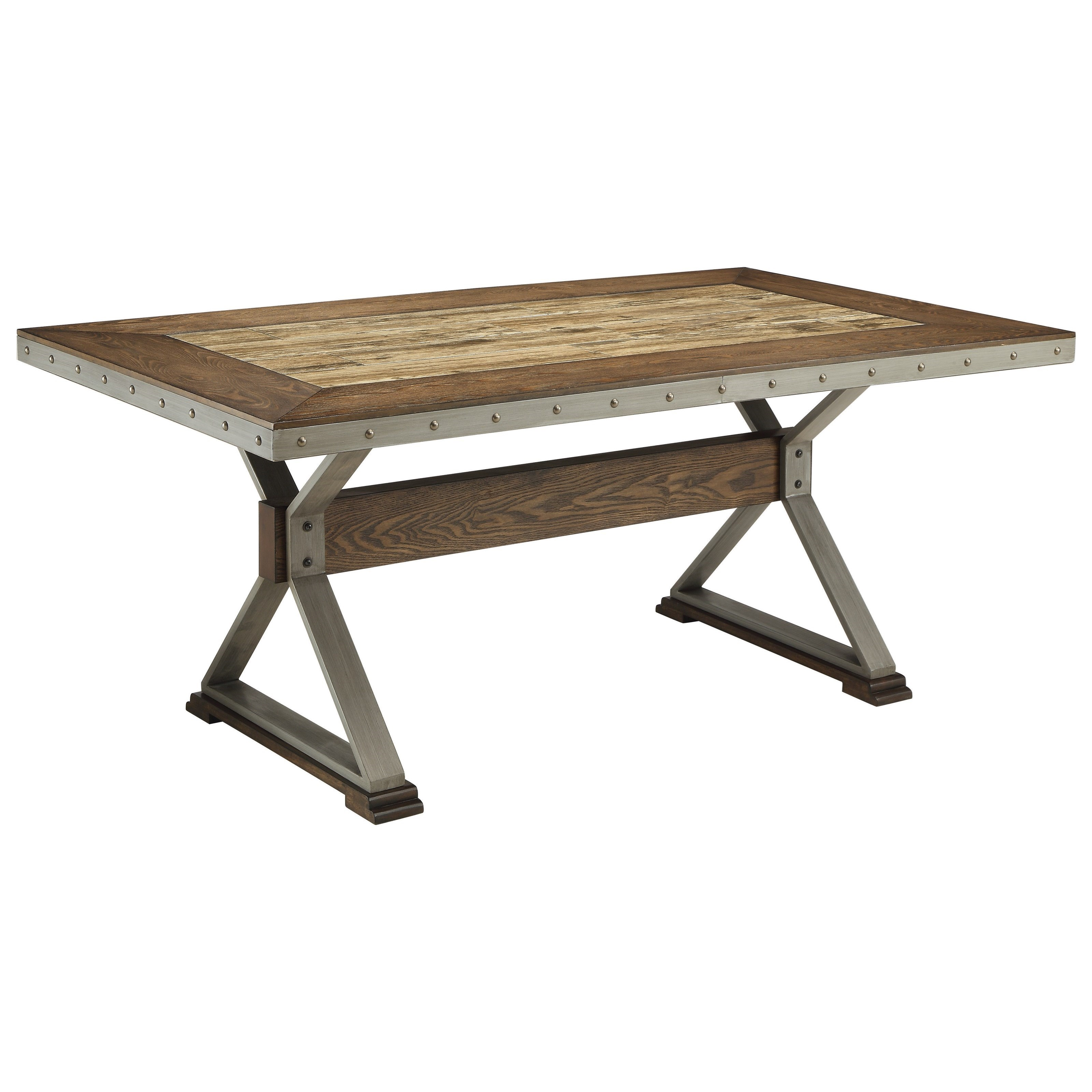 Coaster Beckett Rectangular Dining Table - Item Number: 107011